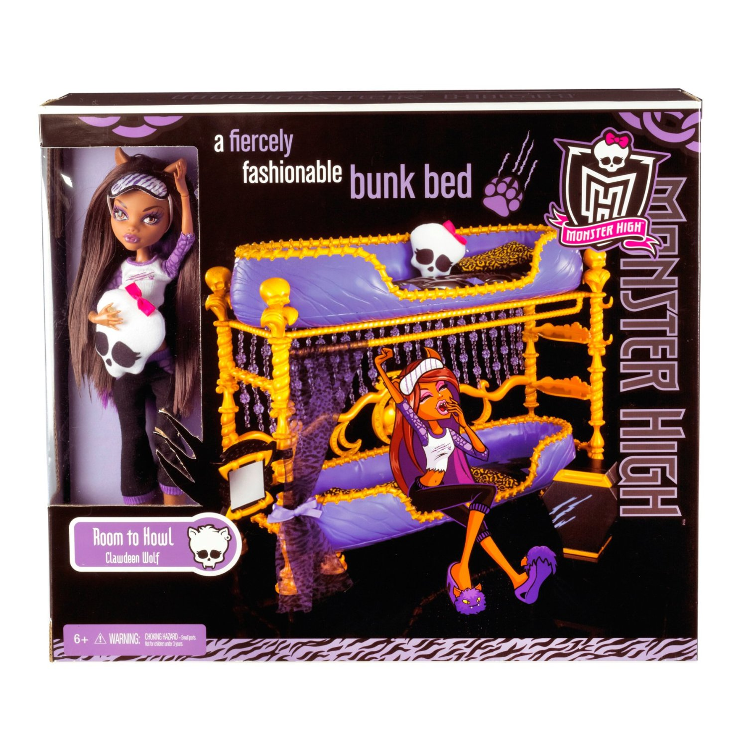 Monster High Doll Bunk Beds